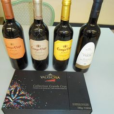 Campo Viejo Spanish Wines and Valhrona Chocolate pairing
