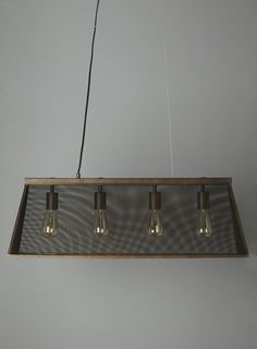@lisaannenberg  - is this bolder? Photo 2 of Jaxon Multi Pendant (Metal Diner Bulb Bar Pendant)