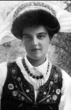 Grand Duchess Marie Pavlovna of Russia, 1907