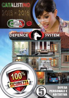 Defence System Catalistino Difesa Personale  Presentazione catalistino 2015 consuntabile in formato PDF, dedicato alla sicurezza. Difesa personale e abitativa.