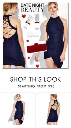 """Yoins date night"" by mada-malureanu ❤ liked on Polyvore featuring DateNight, yoins, yoinscollection and loveyoins"