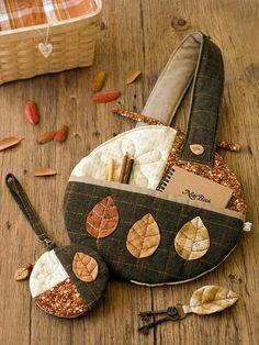 Autumn leaf set
