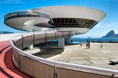 Museu de Arte Contemporanea, Niteroi I - Rio de Janeiro Photography - http://andrewprokos.com