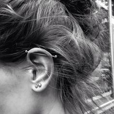 Industrial piercing and doubles