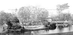 Buxton, Pavilion Gardens c.1871, from Francis Frith