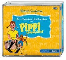 Die schönsten Geschichten von Pippi Langstrumpf (3CD). Ab 4 Jahren.