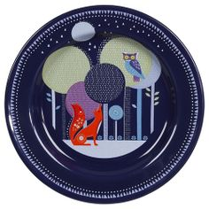 Owl Plate by Wild and Wolf 'Folklore Collection'