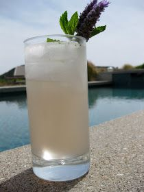Lavender Mojito: Add a simple syrup infused with lavender.