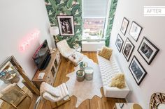 Before + After: A Fashion Blogger's Tiny NYC Apartment