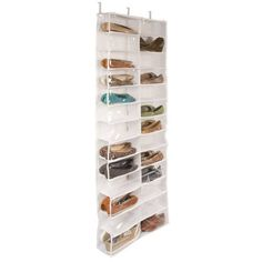 Closetware Clear Over-the-Door 26-Pocket Shoe Organizer $20 @ BBB