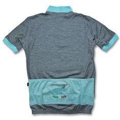 Vittoria Vintage 1976 Short Sleeve Wool Jersey