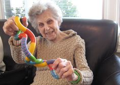 Toys and Manipulatives to Aid the Care and Treatment of Alzheimer's Disease and Dementia