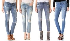 Spring Denim Trends for 2015: DIY Ripped Jeans