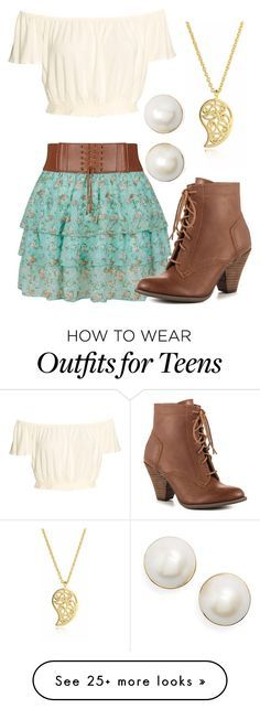 """""""Country"""" by sarelle-20 on Polyvore featuring Mojo Moxy, Kate Spade, Sonal Bhaskaran and country"""