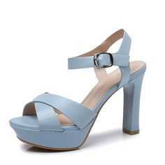 Summer Korean version with high heels/Shoes with chunky heels open-toe sandals >>> You can get more details by clicking on the image. Open Toe Sandals, Flat Sandals, High Heels, Shoes Heels, Chunky Heels, Womens Flats, Korean, Summer, Image