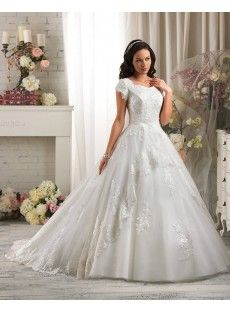 Tank Top Tulle Ball Gown Wedding Dress