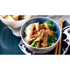 Sesame pork stir-fry recipe. #Asian #StirFry #Lunch #Pork