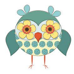 D383_floral_owl