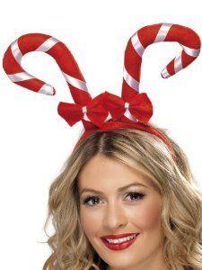 New Christmas Costume Candy Cane W/ Bows Girls Headband: Smiffys: Amazon.co.uk: Toys & Games £3.50  Deb
