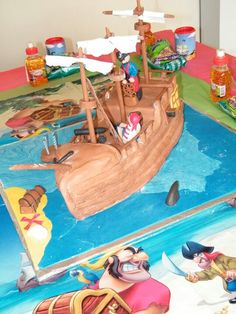 Ronnie Mouton made Jack Sparrows boat