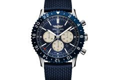 ByJovan Krstevski  The Breitling Chronoliner is the combination of an automatic chronograph equipped with an easy to read dual time zone system. This watch is further enhanced by the high-tech ceramic rotating bezel, which is set