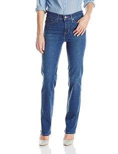 Levis Womens 314 Shaping Straight Jean Worn Blue 31W x 30L >>> Check this awesome product by going to the link at the image.