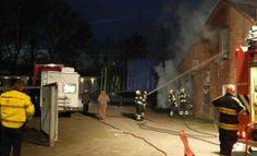 Brand in sloopwoningen aan de Handelskade