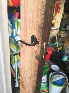 Made a cut out to hide pull chain switch for each light. Pull Chain, Bottle Opener, Barware, Rustic, Wall, How To Make, Country Primitive, Rustic Feel, Bar Accessories