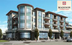 The more traditional and European styled Madison Burnaby condo low-rise in Burnaby Heights neighbourhood.
