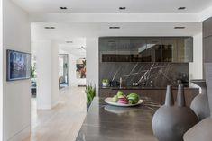 Kitchen by featuring Scanomat's Loft Kitchen