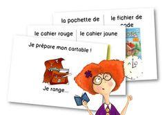 Les rituels du matin – Le blog de Chat noir Cycle 3, Family Guy, Teacher, Comics, Fictional Characters, Languages, Montessori, Parents, Alternative