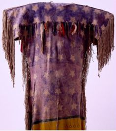 Dress Dance of the Spirits, Southern Arapaho. Oklahoma, 1890. Detail. Платье Пляски Духов, Южные Арапахо. Оклахома, 1890 год. Деталь.