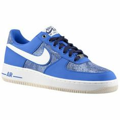 Nike Air Force 1 - Low - Men's $89.99 Selected Style: Game Royal/Blackened Blue Width D: Medium Product #: 88298410