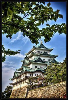 Nagoya-jo, Nagoya, Japan.