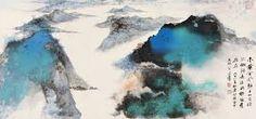 张大千的山水画 - Google Search