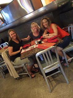 Robin Bielman @RobinBielman  4h First meal in San Antonio with @jenniferhaymore and @RobinNHammer Loving the Riverwalk! #RWA14