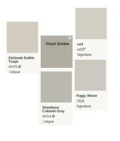 Best Paint Color Ever Shows As Both Tan Gray Goes With Anything Valspar Paint Color Chip