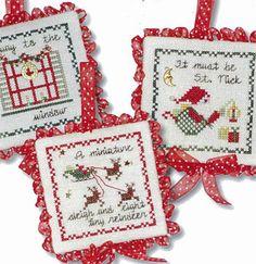 Twas The Night Ornaments II - Cross Stitch Pattern