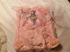 Marie Antoinette altered journal in pink by cindysvictorian