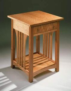 Falcon Designs Craftsman Side Tables 8001 Table 20 W X D 26 H