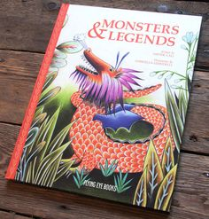 An Illustrated Encyclopedia of Mythic Monsters, from Gremlins to Zombies to the Kraken | Brain Pickings