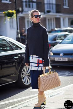 Natalie Joos Street Style Street Fashion Streetsnaps by STYLEDUMONDE Street Style Fashion Blog