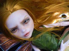 OOAK custom repaint Monster High Draculaura doll Fox Fairy