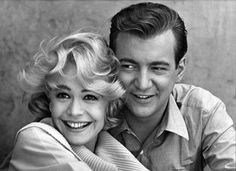 Sandra Dee and Bobby Darin- One of the cutest couples in history!