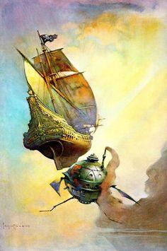 Frank Frazetta, The Galleon (1973)