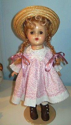 Madame Alexander Doll Composition McGuffey ANA 1930s Tin Eyes | eBay
