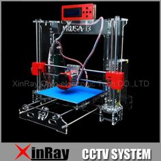 319.00$  Watch here - http://ali7cx.worldwells.pw/go.php?t=32250573394 - New Acrylic Framework  Rerap Prusa I3 Kit 3D Printer DIY  With Screen Support Offline Print Stable Accuracy RSP802