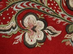 Trøye - Norsk Folkemuseum / DigitaltMuseum Scandinavian Embroidery, Folklore, Hand Embroidery
