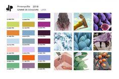 Tendance Printemps-Eté 2018 2018 Color, Color Trends 2018, Fashion 2018 Trends, 50 Fashion, Colour Palette 2018, Capsule Outfits, Color Me Beautiful, Color Swatches, Spring Colors
