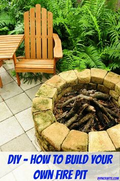 Enjoy Those Summer Evenings with a Fire Pit You Can Build Yourself – DIY &...